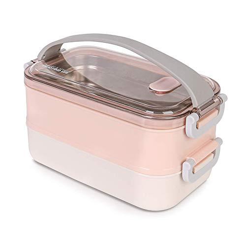 Lunchbox - Brotdose mit Fächern Praktische Bento Box mit...
