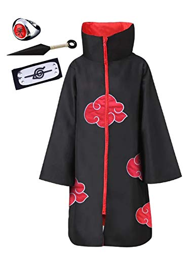 Anime Naruto Akatsuki/Uchiha Itachi Cosplay Halloween Weihnachten...