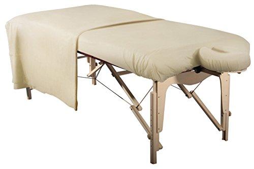 Massageliegenbezug/Spannbezug Set 3 teilig Laken für...