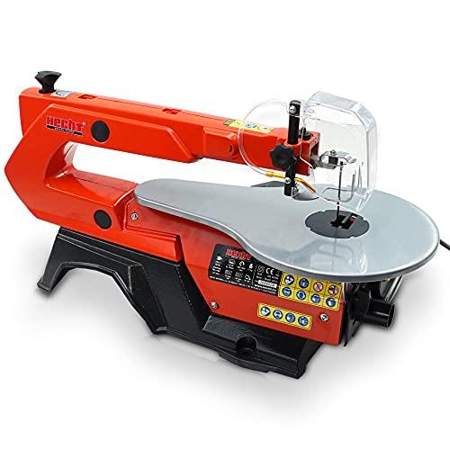HECHT Dekupiersäge elektrische Laubsäge mit 120 Watt für Hobby und...
