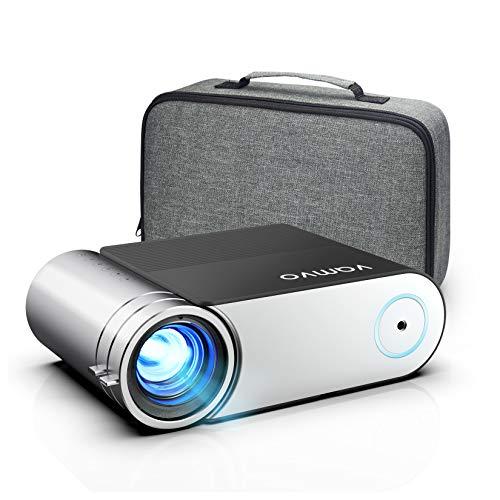 Beamer, Vamvo Mini Beamer, Projektor 1280*720P mit Tragetasche...