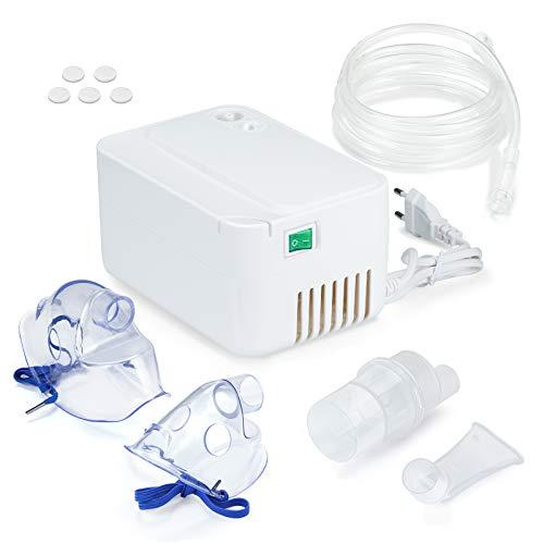 SDFZH Inhalator Vernebler mit Kompressor Inhaliergerät mit Mundstück...