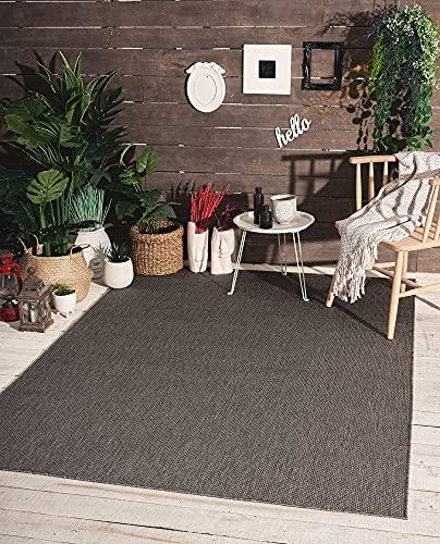 the carpet Mistra In- & Outdoor Teppich Flachgewebe, Modernes Design,...