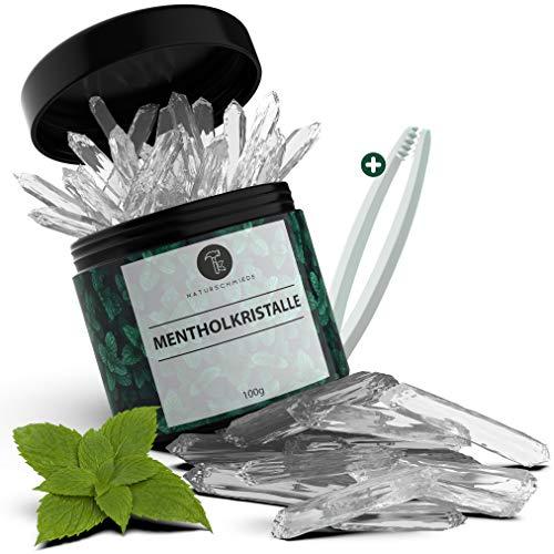 Naturschmiede® Premium Mentholkristalle für die Sauna 100g...