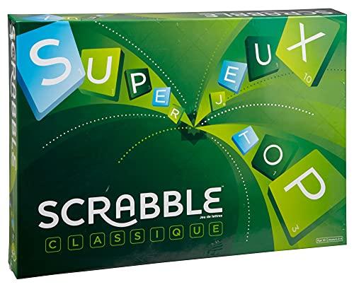 Mattel Games Y9598 - Scrabble Original Wörterspiel und Brettspiel...