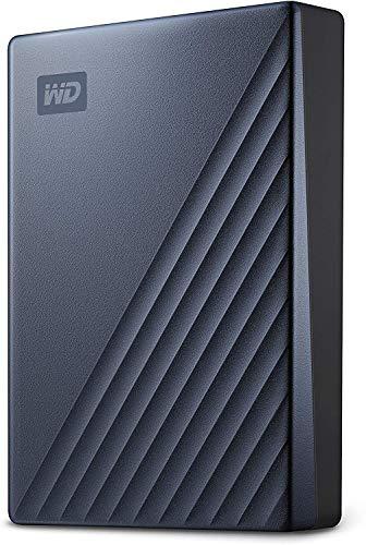 Western Digital WD My Passport Ultra externe Festplatte 4 TB (mobiler...