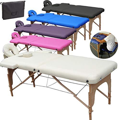Beltom Mobile Massagetisch Massageliege Massagebank 2 zonen klappbar...