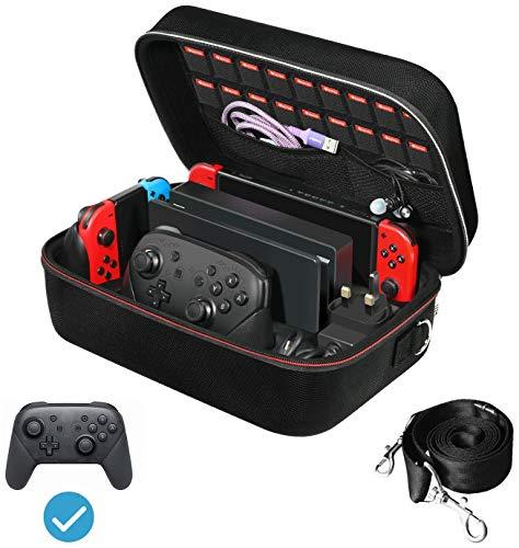 iVoler Tasche für Nintendo Switch, Deluxe Harte Tragetasche Schutz...
