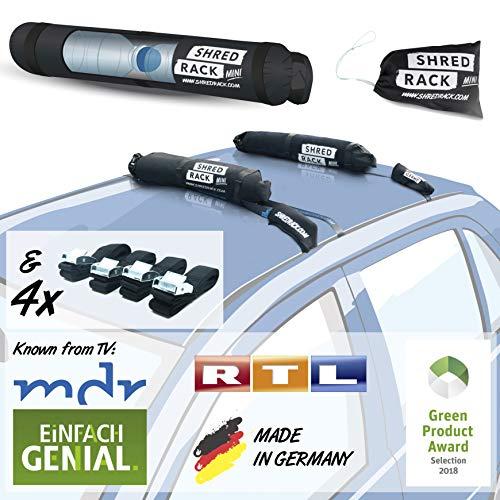 SHRED RACK Mini - Universal Dachgepäckträger Tasche mit 4...