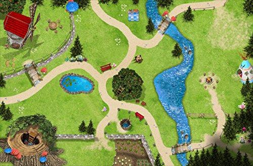 Zauberwald Spielmatte (ähnlich Spielteppich) | SM11 | Spiel-Matte |...