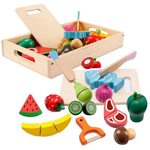 Spielküche Zubehör, Kinderküche Zubehör Holz, Küche Kinder...