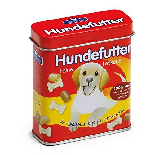 Erzi 18460 Hundefutter aus Holz in der Dose, Kaufladenartikel für...