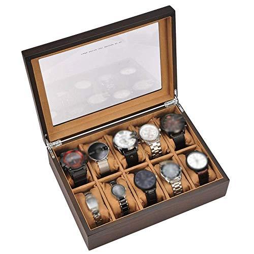 Aufbewahrungsbox Uhr Displaybox Armband Tablett Kissenbezug 10 Gitter...