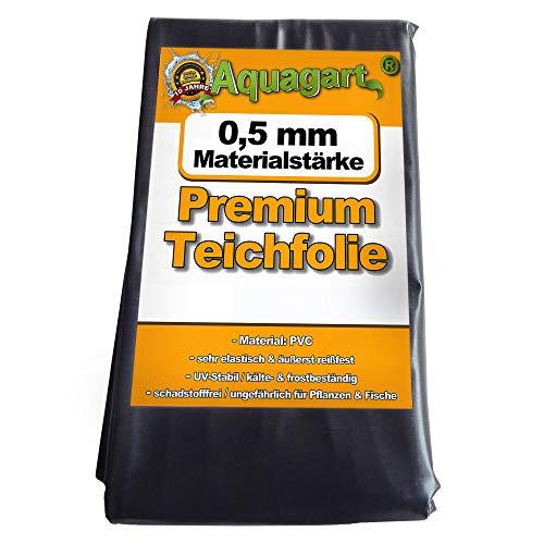 Hochwertige PVC Teichfolie 0,5mm Stärke 6m x 8m I Fisch und...