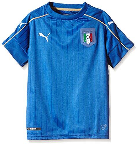 PUMA Kinder Trikot FIGC Italia Home Shirt Replica, Blau, 748833 01,...