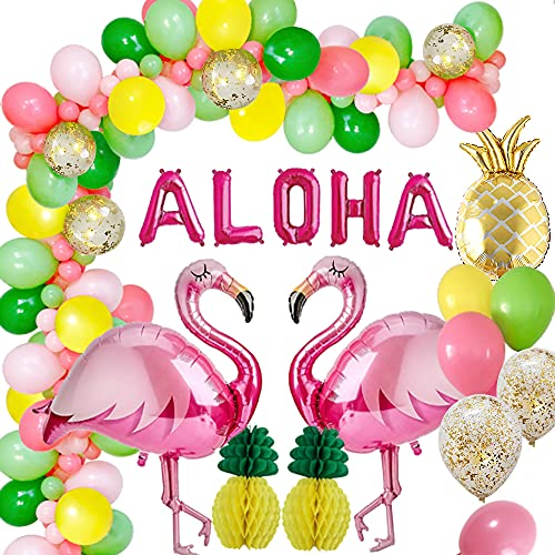 MMTX Hawaii Beach Party Dekoration,Tropical Sommer Hawaiian Ballons...