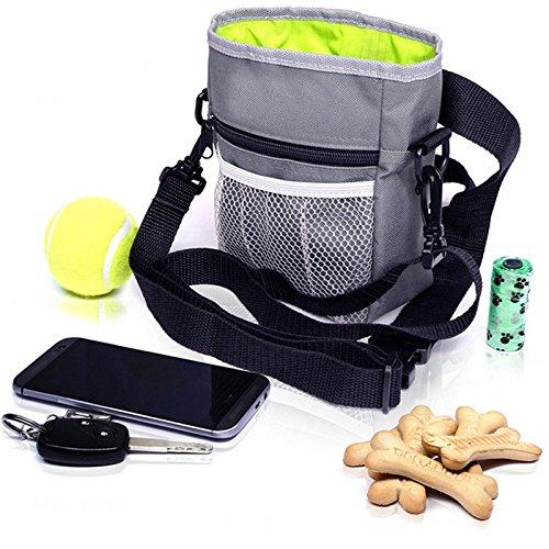 Amacoam Futterbeutel für Hunde, Hundefutter Taschen Hund Rucksack,...