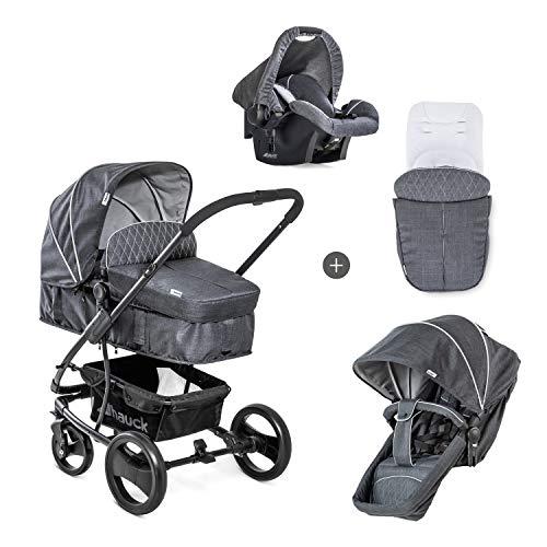 Hauck Kombi Kinderwagen Pacific 4 Shop N Drive / inkl. Babywanne...