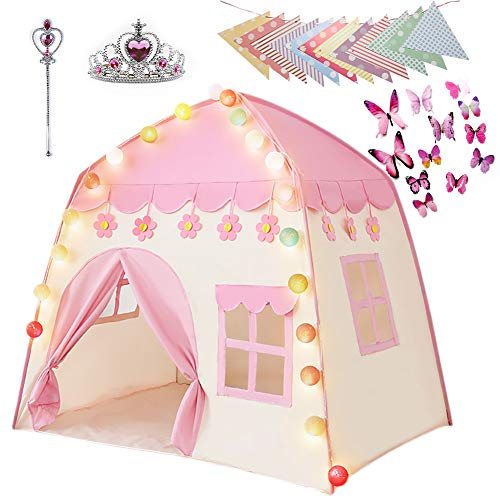Labeol Kinderspielzelt für Mädchen Prinzessin Spielzelt Kinderzimmer...