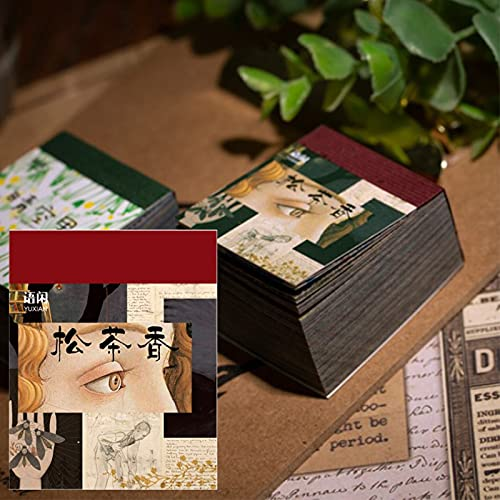 Dulau 366 Stück Dekoratives Scrapbook-Papier, Sammelalbum Notizbuch...