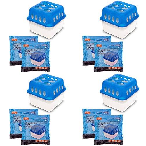 4X Ultra Fresh Luftentfeuchter Feuchtigkeits-Stopper mit...