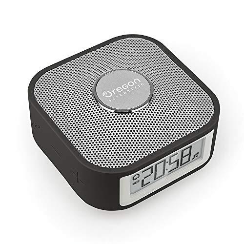 Oregon Scientific smarter Reisewecker mit Bluetooth-Lautsprecher und...