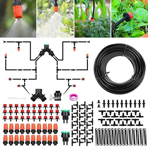Bewässerungssystem Garten, Aiglam 30m Bewässerungssets Micro Drip...