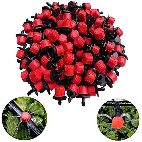 Kalolary 100 Stück Bewässerung Tropfer Sprinkler Bewässerungssystem...