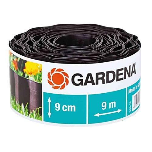 Gardena Beeteinfassung 9 cm hoch: Ideale Beet-Eingrenzung, auch für...