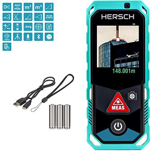 HERSCH LEM 150 Laser Entfernungsmesser (Digitale Kamera mit 4-fach...