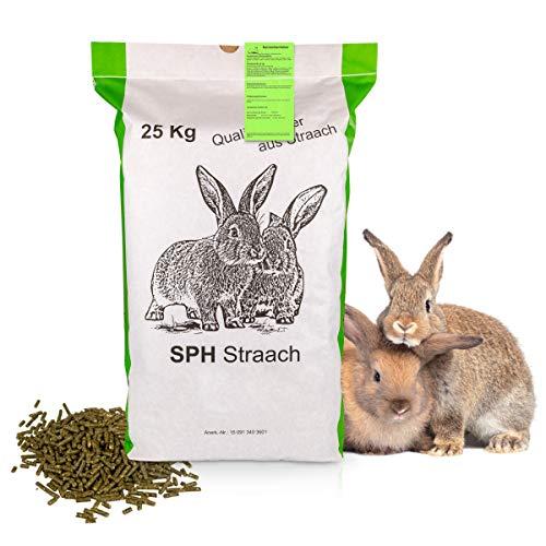 SPH Futter für Kaninchen und Nager 25kg Sack - universelles Futter...