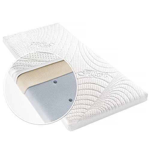 Alvi Matratze für Beistellbett & Wiege Tencel & Dry - 90x40 cm...