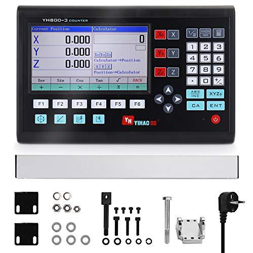KKmoon 7 Zoll LCD-Großbildgitter CNC Digitalanzeige Drehmaschine...