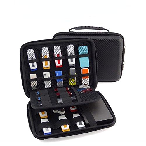 FunYoung USB-Speicherstick Organizer Aufbewahrungs Tasche Case...
