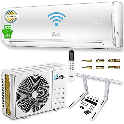 Kältebringer Split Klimaanlage Set - Quick-Connector Klimagerät...