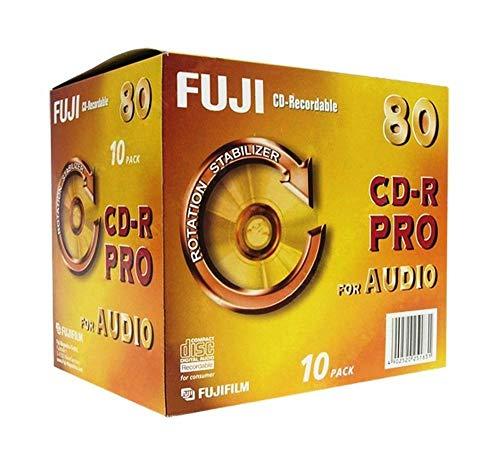 Fuji CD-R Audio PRO CD-Rohlinge 80min 700 MB 10er Pack