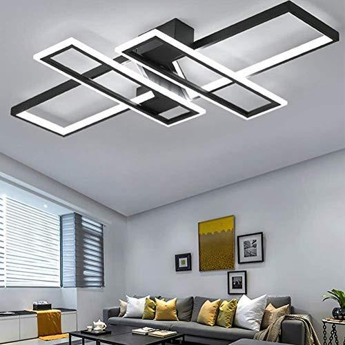 LED Deckenleuchte Modern Wohnzimmer Licht Pendelleuchte Dimmbar 94W...