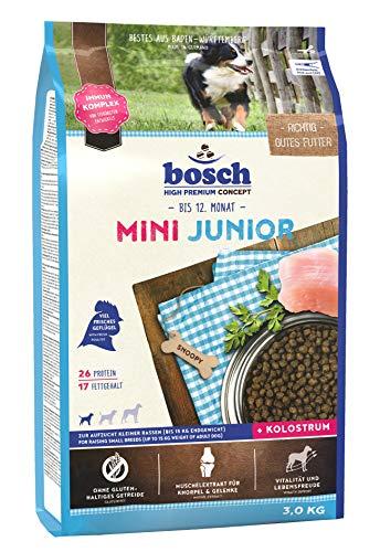 bosch HPC Mini Junior   Hundetrockenfutter zur Aufzucht kleiner Rassen...