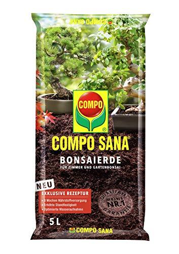 Compo SANA Bonsaierde mit 8 Wochen Dünger für alle Zimmer- und...
