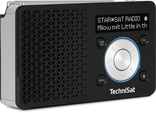 TechniSat DIGITRADIO 1 – tragbares DAB+ Radio mit Akku (DAB, UKW,...