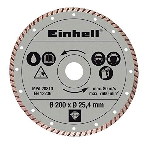 Original Einhell Diamant-Trennscheibe (Radial-Fliesenschneid-Zubehör,...