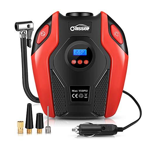Oasser Auto-Luftpumpe Reifen Inflator Kompressor Digital Portable mit...