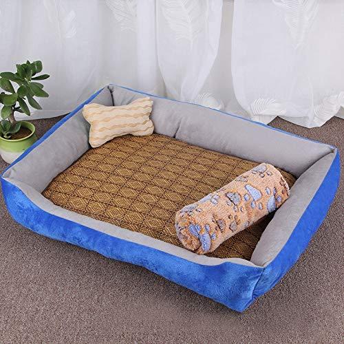Qiuge Hundekatze Bett Winter weiche warm bequeme Memory Foam Pet Bett,...