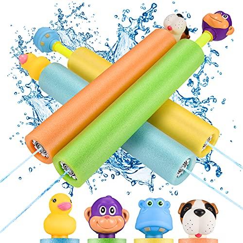 LET'S GO! Wasserpistolen für Kinder, Wasserspielzeug Garten Spielzeug...