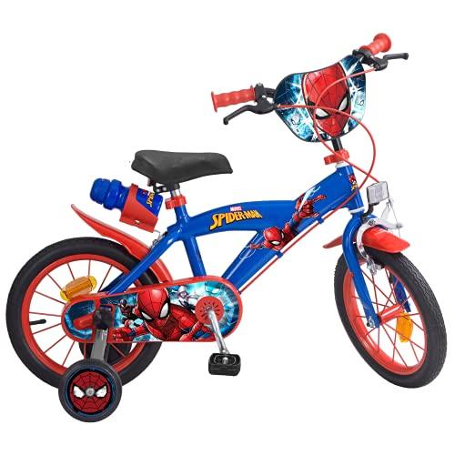 Toims 874 Spiderman Kinderfahrrad Mixed Bike Toims, 3/5 jahre-14',...