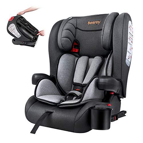 Besrey Kindersitz Kinderautositz mit Isofix - Kinder Autositz Gruppe...