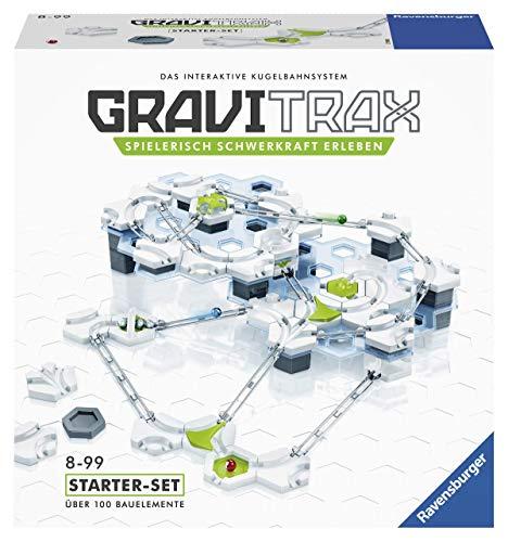 Ravensburger GraviTrax Starterset - Erweiterbare Kugelbahn für...