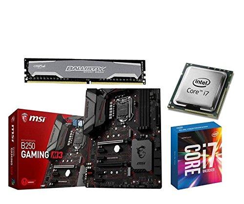 Aufrüstkit MSI B250 Gaming M3+i5-7700+16GB Ballis Desktop PC (Intel...