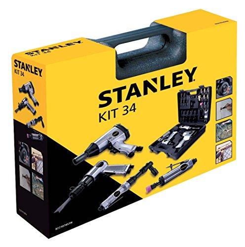 Stanley Zubehör für Luftkompressoren Airtoolkit, 34 Stück,...