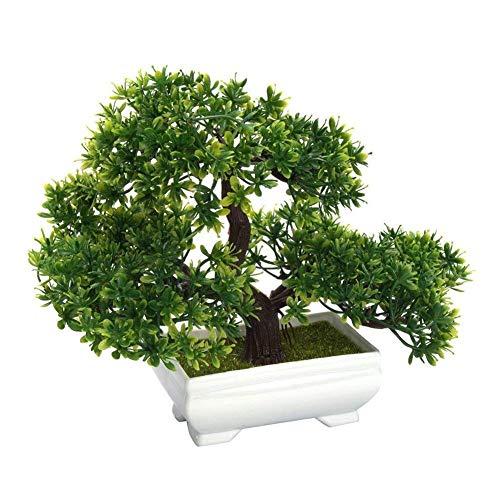 Deanyi Künstliche Bonsai Baum Fälschungs Pflanze Dekoration Topf...